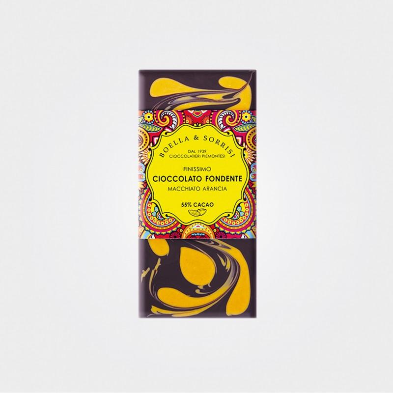 "Zartbitterschokolade ""Macchiato"" mit Orange von Boella & Sorrisi"