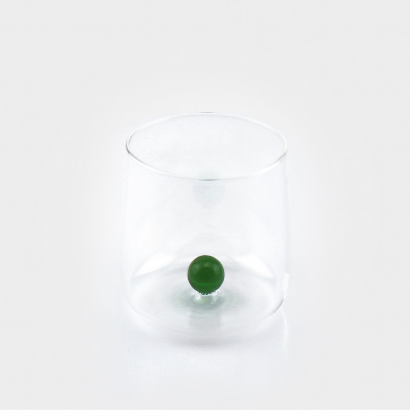 Zafferano Bilia Glas, grün