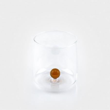 Zafferano Bilia Glas, amber