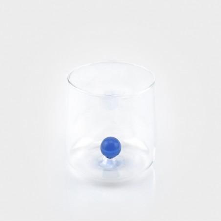 Zafferano Bilia Glas, blau