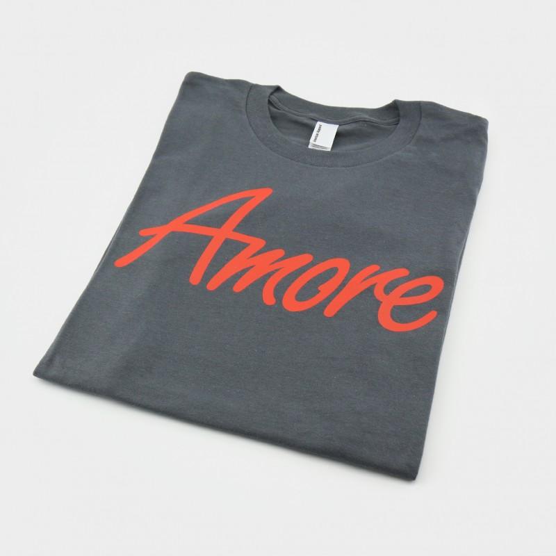 Amore T-Shirt, dunkelgrau