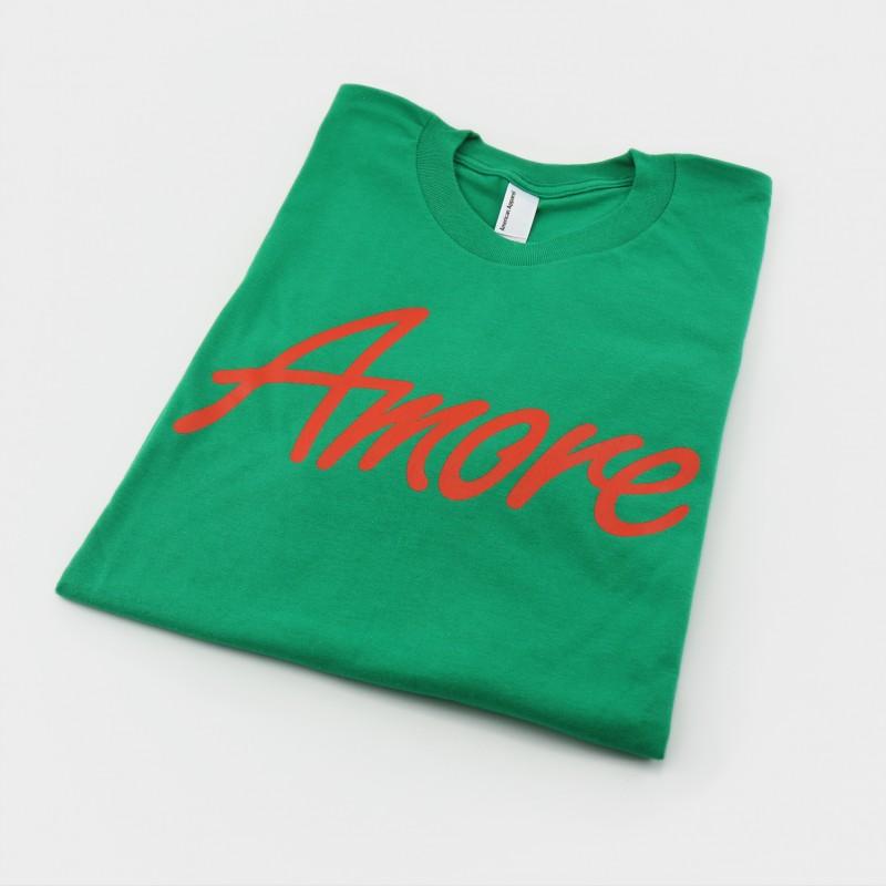 Amore T-Shirt, grün, von American Apparel