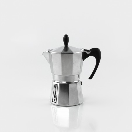Mokka-Kanne Aluminium, 3 Tassen