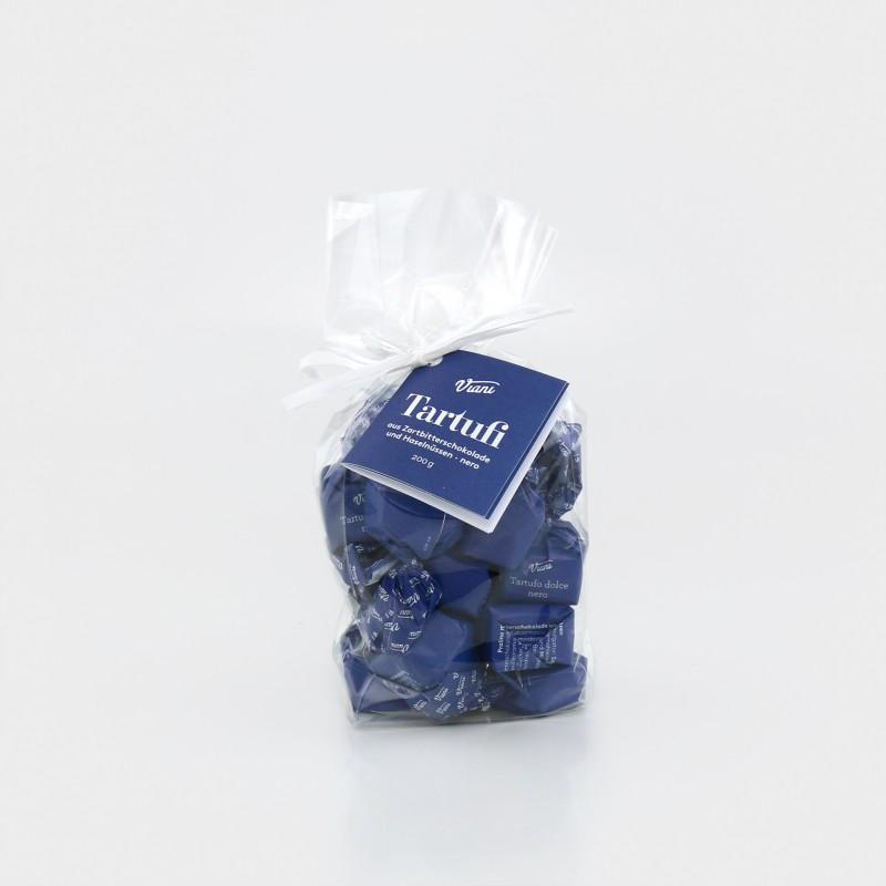 Tartufi dolci neri, Schokoladentrüffel aus dem Piemont