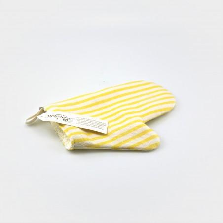 """Busatti Back-Handschuh """"Melograno"""" aus der Toskana, gelb"""