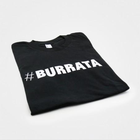 BURRATA T-Shirt, unisex, schwarz, von American Apparel