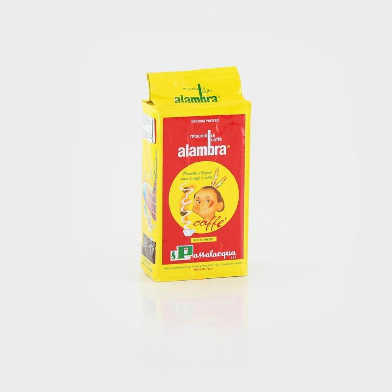 Passalacqua Alambra, Espresso, 250g, gemahlen