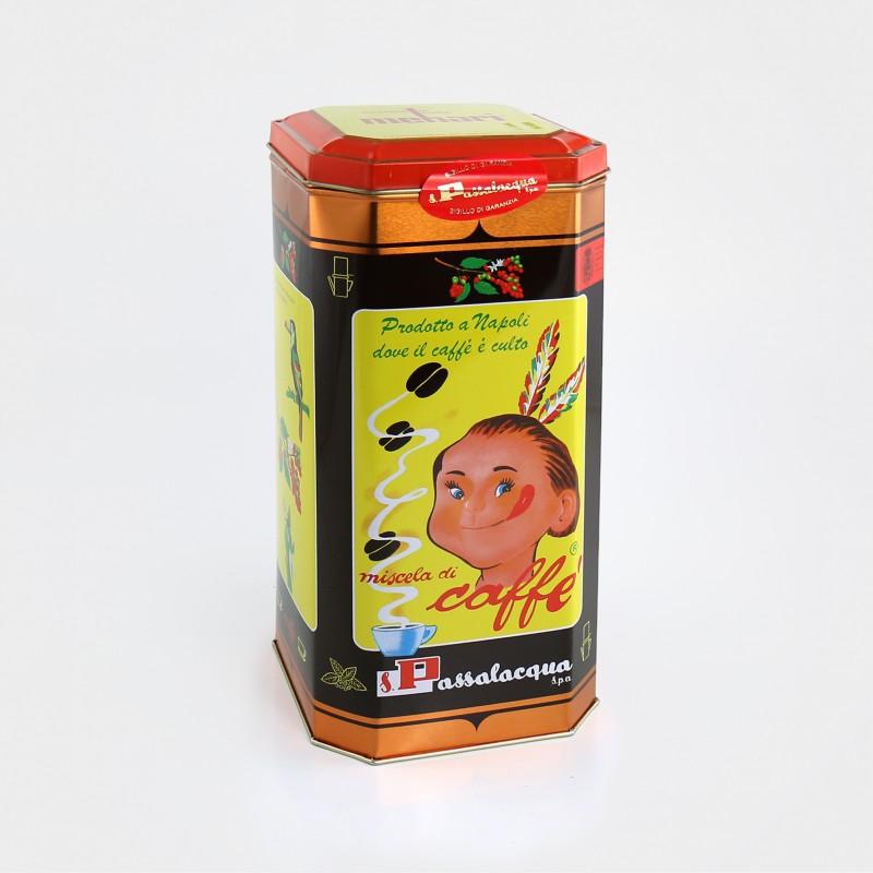 Passalacqua Mehari, Dose, 4 x 250g Vakuum-Packungen, gemahlen