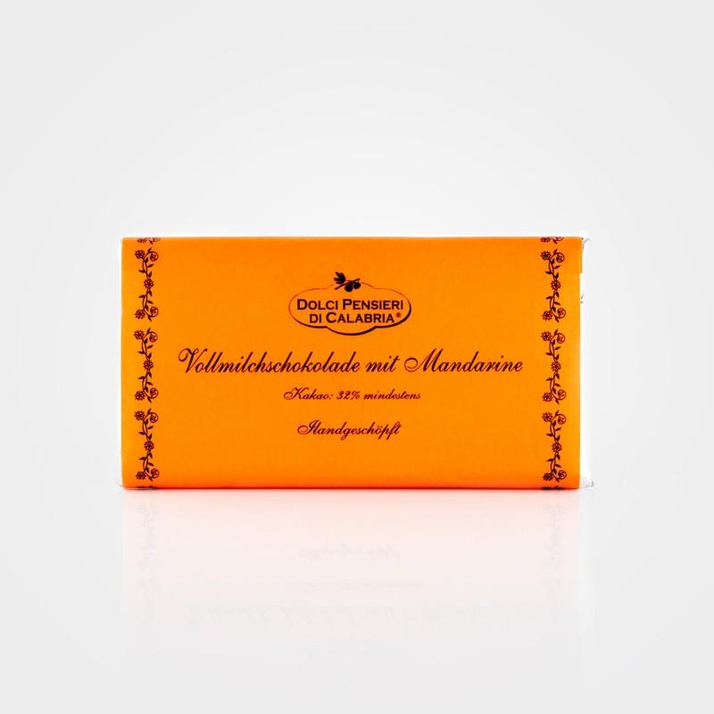 Vollmilchschokolade mit Mandarine