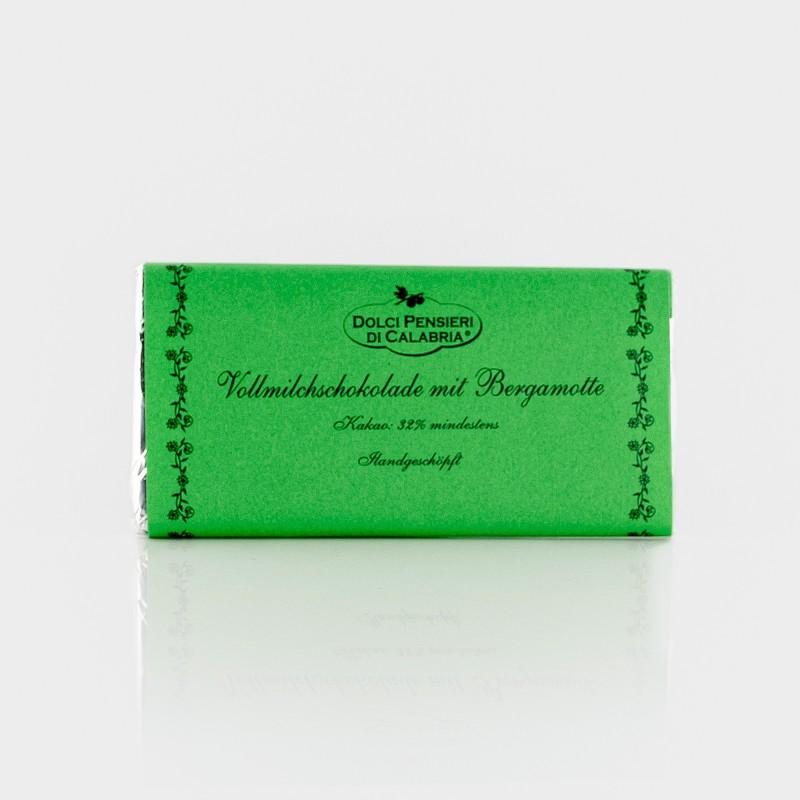 Vollmilchschokolade mit Bergamotte von Dolci Pensieri di Calabria