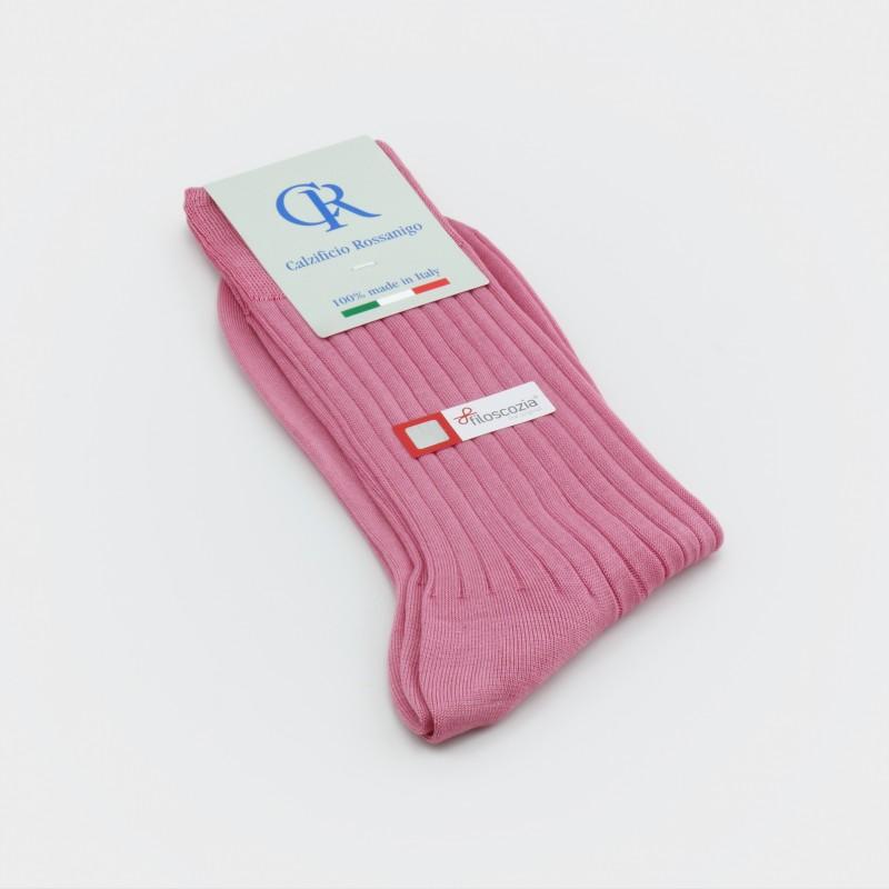 Socken aus Baumwolle (Filoscozia), rosa