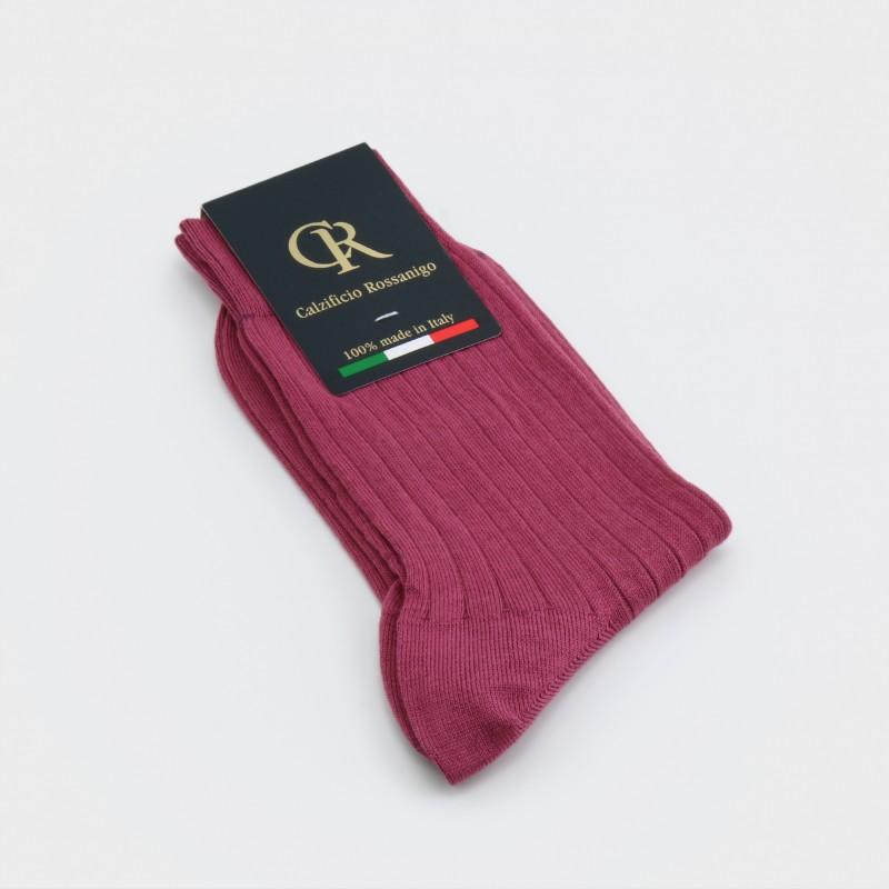 Socken aus Baumwolle, altrosa