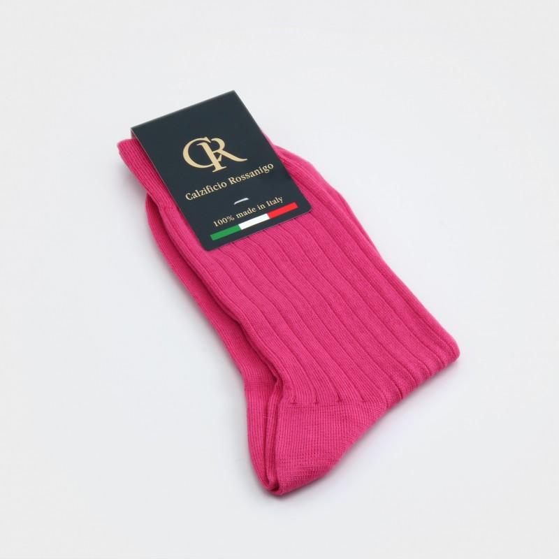 Socken aus Baumwolle, pink
