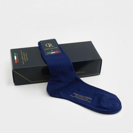 Socken aus Baumwolle, navy