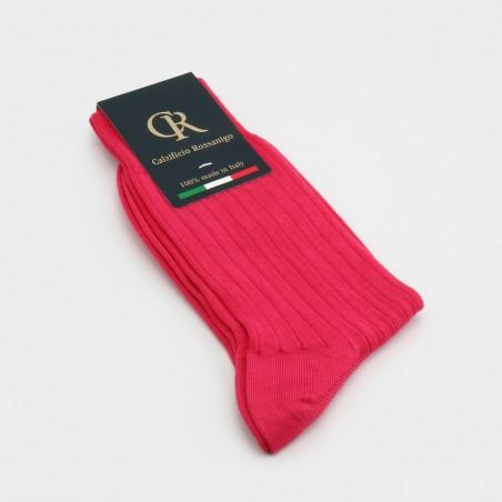 Socken aus Baumwolle, koralle