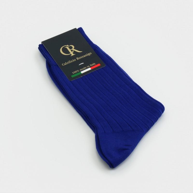 Socken aus Baumwolle, marine