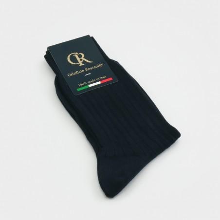 Socken aus Baumwolle, dunkelblau