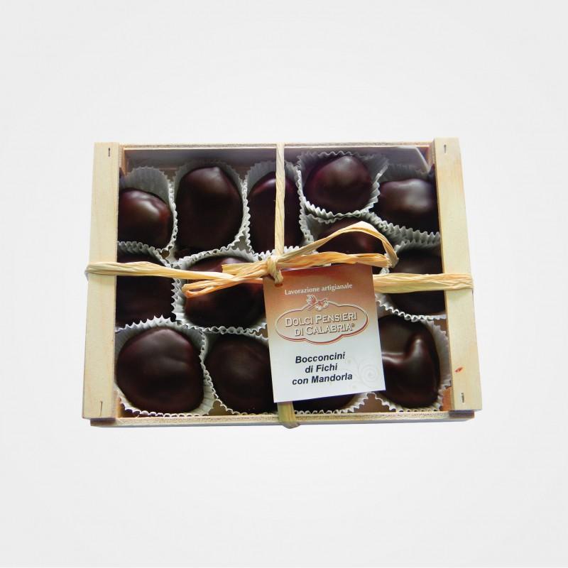 Feigen in Zartbitterschokolade
