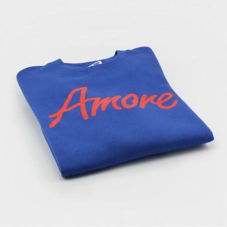 Amore-Sweatshirt, royalblau