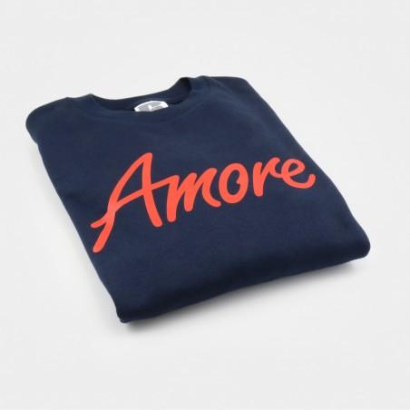 Amore-Sweatshirt, unisex, Russel, dunkelblau