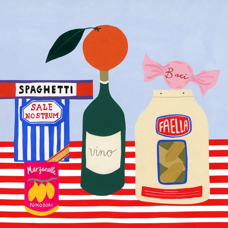 Plakat von Tara Deacon, 42 x 42 cm, Affichenpapier, Offset-Druck