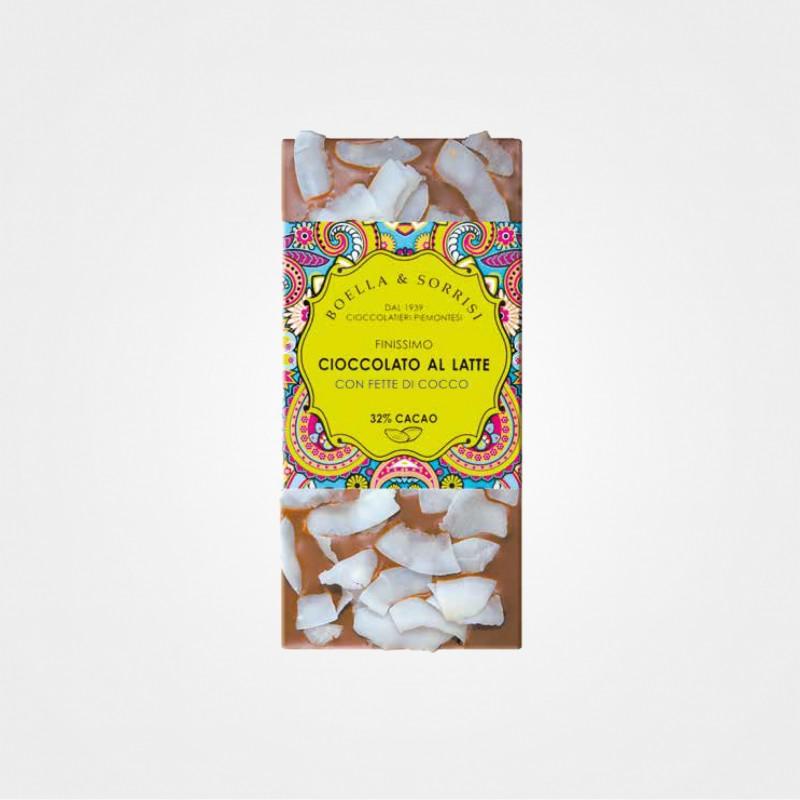 Boella e Sorrisi Vollmilchschokolade mit Kokos