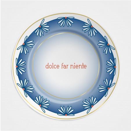 """Ilaria.I Teller """"Dolce far niente"""" (28cm) aus der Kollektion """"Summer 21"""""""