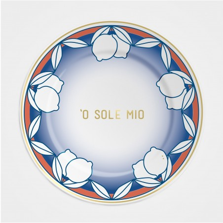 """Ilaria.I Teller """"'O sole mio"""" (21cm) aus der Kollektion """"Summer 21"""""""