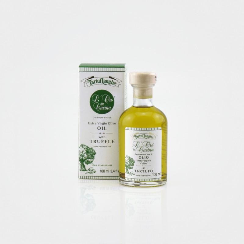 Olivenöl mit Sommertrüffel von Tartuflanghe aus Alba