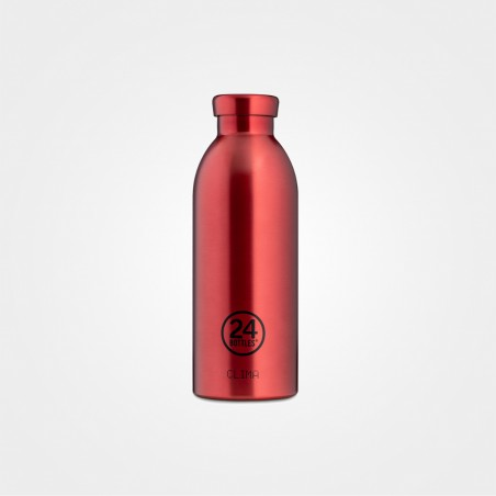 24Bottles Thermo Trinkflasche Clima, 500ml, Chianti Red