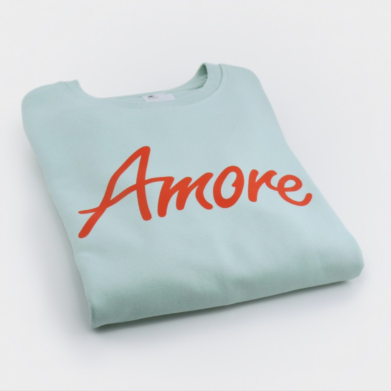 Amore-Sweatshirt, mint