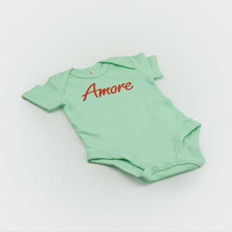 Amore Baby-Body, mint