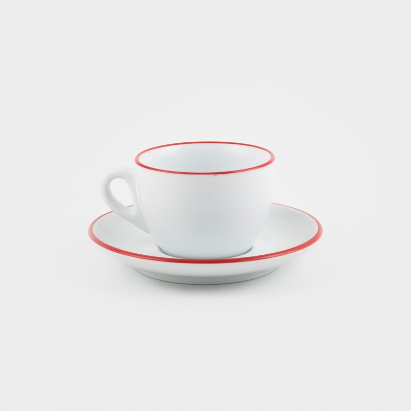 Ancap Cappuccino Tasse Rot
