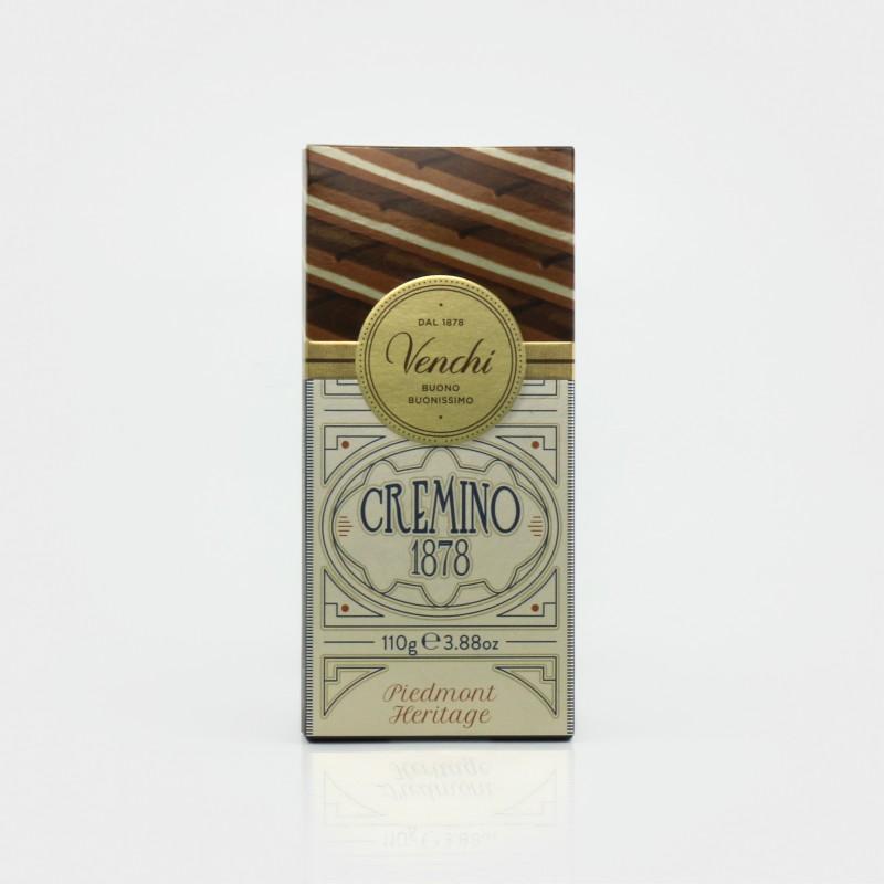 Cremino 1878 Tafel: Milch-Gianduiaschokolade mit Mandelpaste