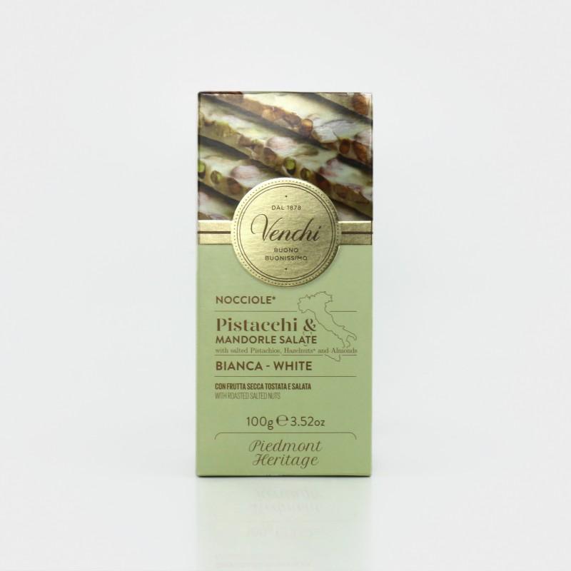 Weiße Schokolade mit gesalzenen Nüssen von Venchi