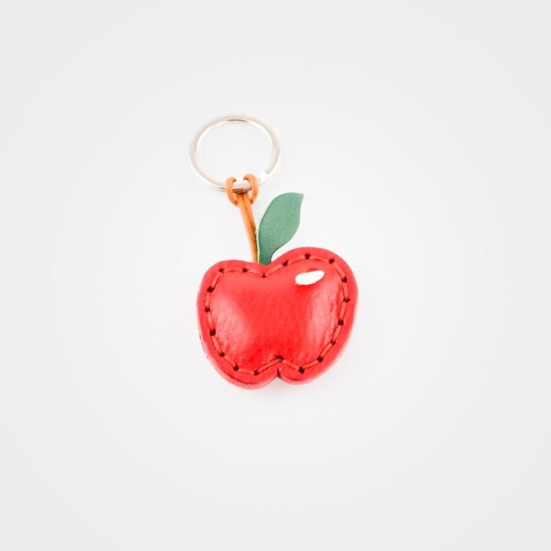 Schlüsselanhänger Apfel