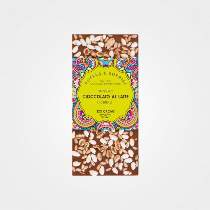 Vollmilchschokolade mit Cerealien von Boella e Sorrisi