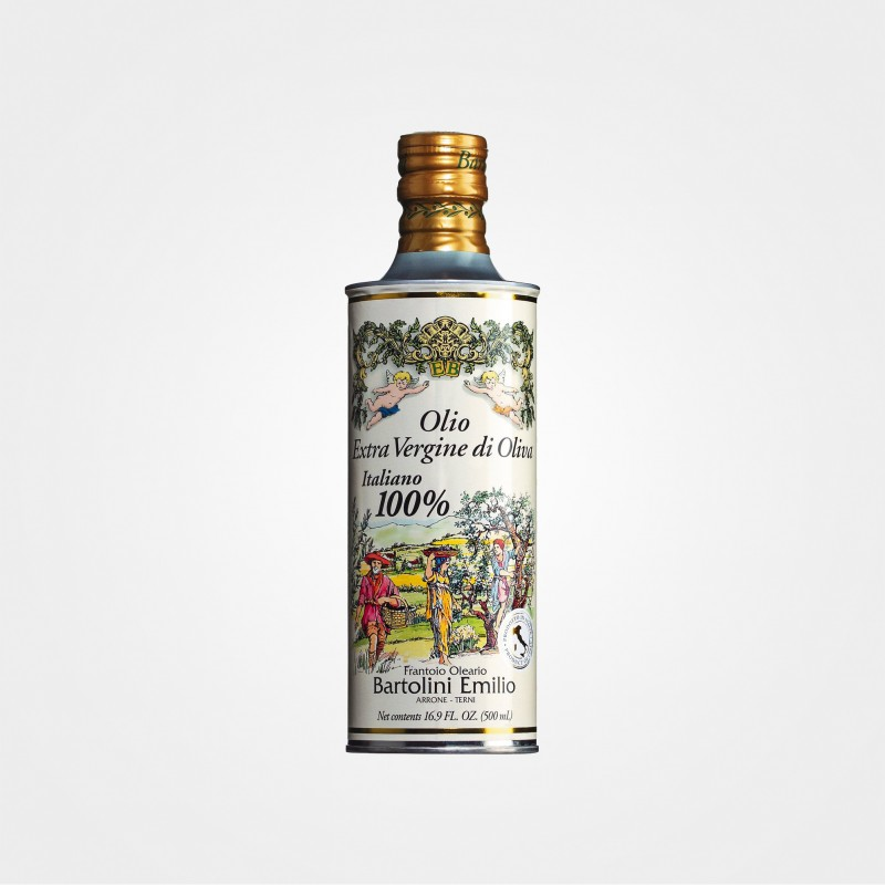 Natives Olivenöl extra ,Angeli' von Bartolini, Dose
