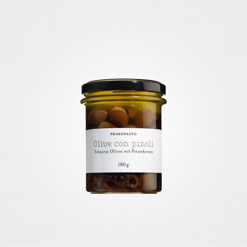 Oliven mit Pinienkernen von Primopasto