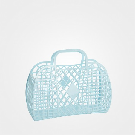 "Sun Jellies ""Retro Basket"", blau"