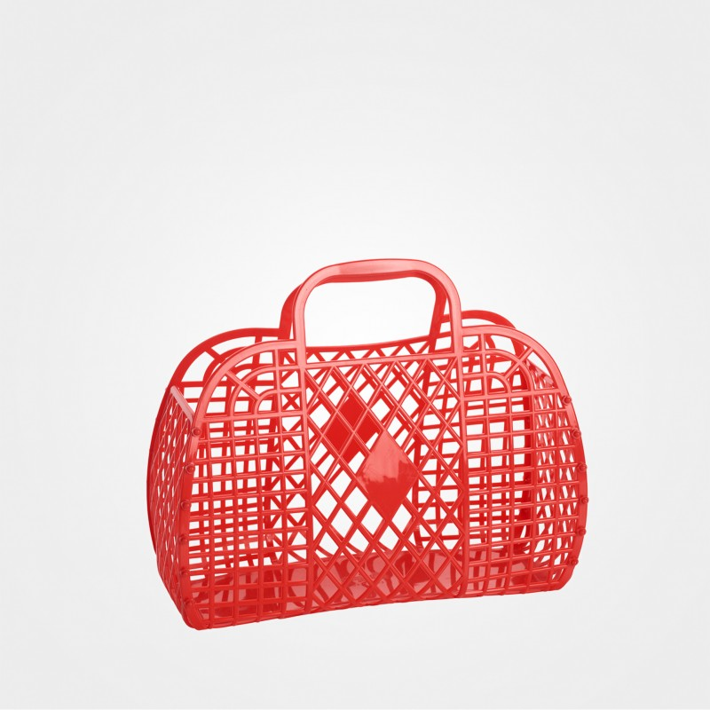 "Sun Jellies ""Retro Basket"", rot"