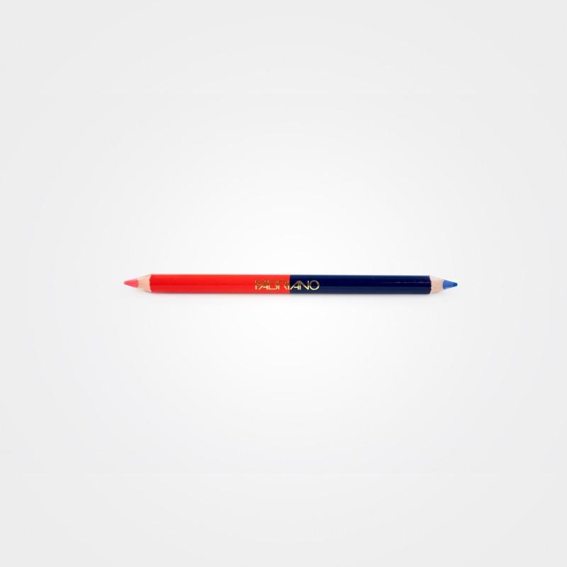 Fabriano Korrektur Stift rot-blau