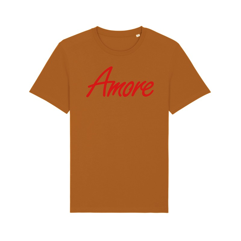Organic Amore T-Shirt, unisex, roasted orange