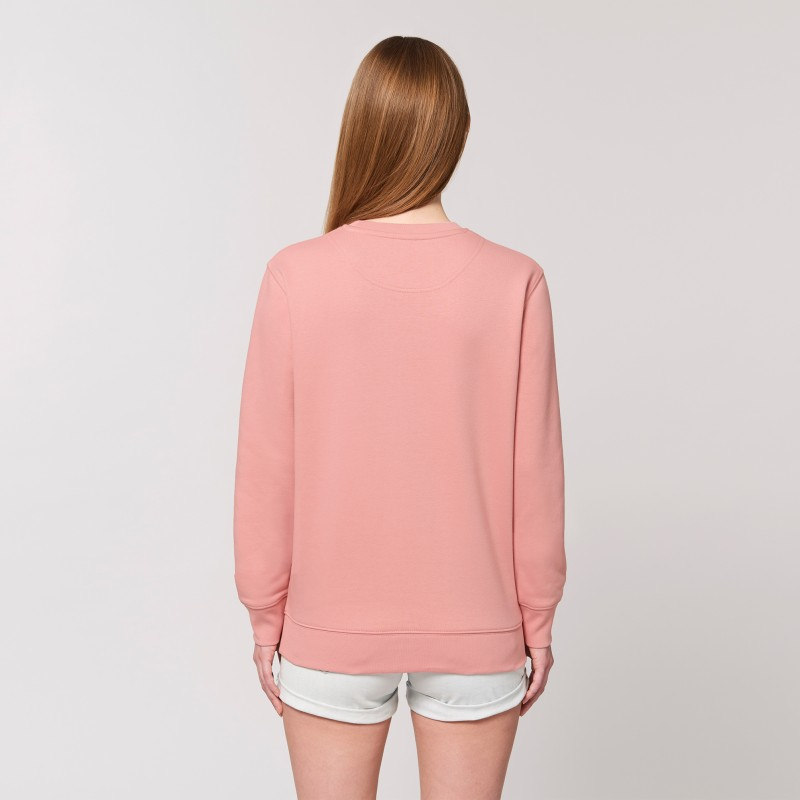 Organic Amore-Sweatshirt (unisex) canyon pink