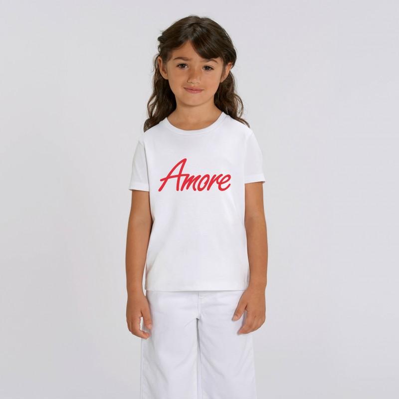 Organic Amore T-Shirt für Kinder, white