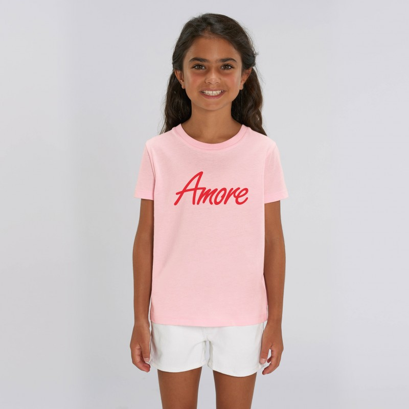 Organic Amore T-Shirt für Kinder, cotton pink