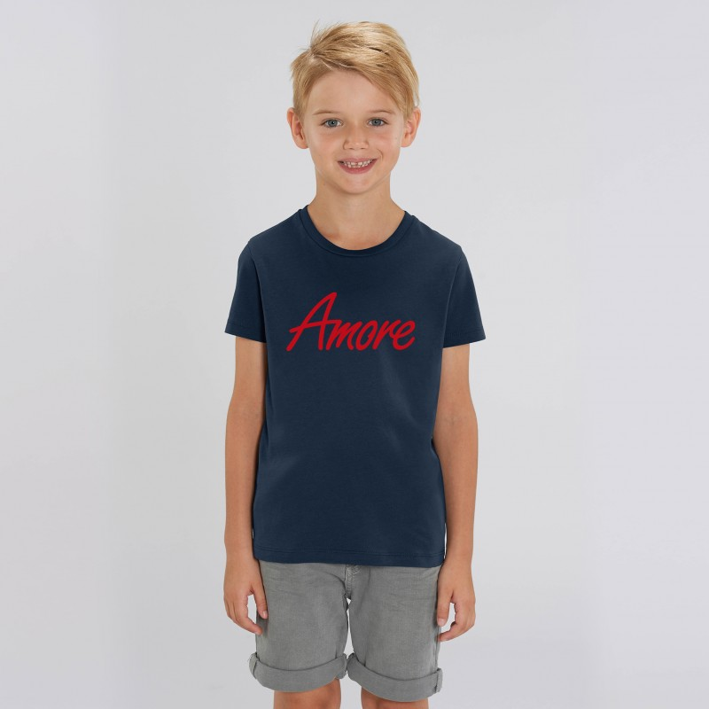 Organic Amore T-Shirt für Kinder, french navy