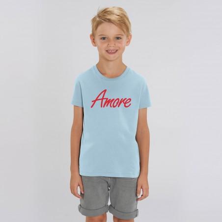 Organic Amore T-Shirt für Kinder, sky blue