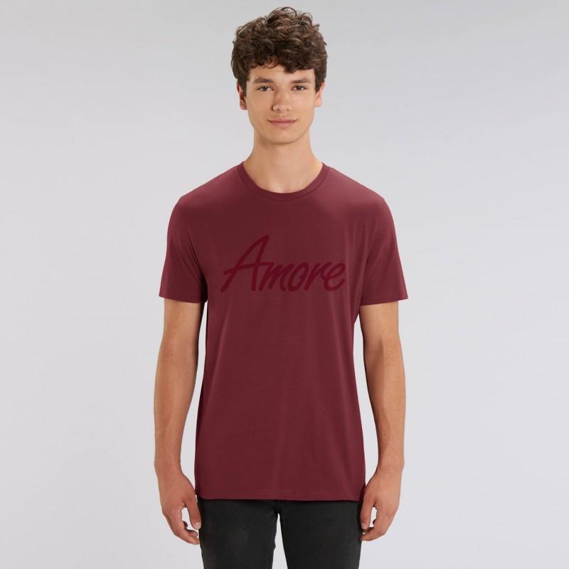 Organic Amore T-Shirt (unisex) burgund