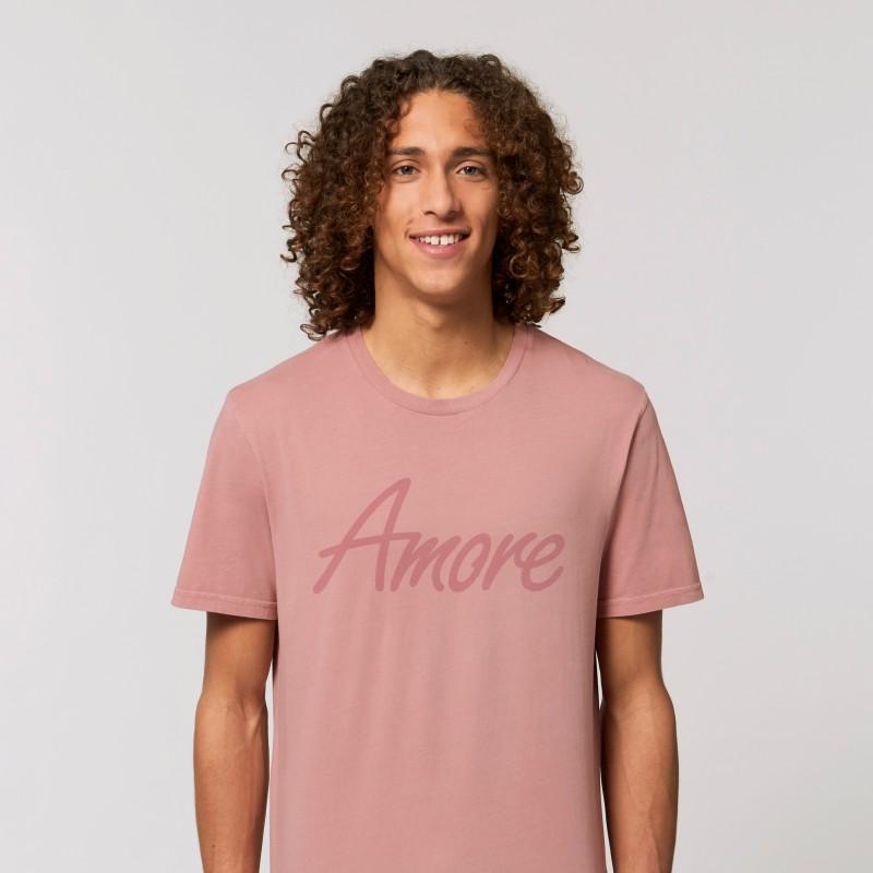 Organic Amore T-Shirt (unisex) canyon pink, Lack